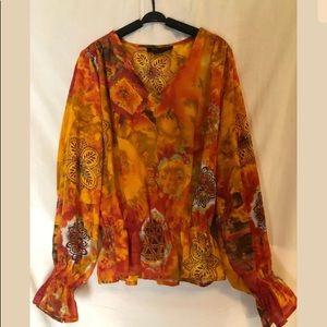 Ashley Stewart blouse 14